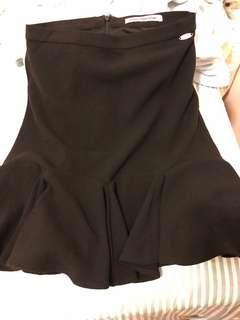 Fornarina skirt (black colour) work skirt