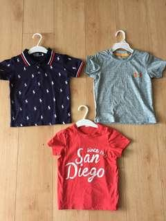 Bundle Boys T-Shirt Polo Ralph Lauren Under Armour H&M