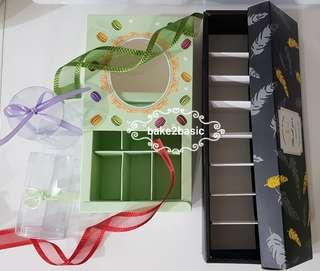 Choose your Macaron box/packaging