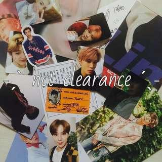nct clearance