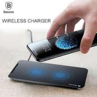 🚚 Baseus Fast Wireless Charging Pad Apple/Samsung