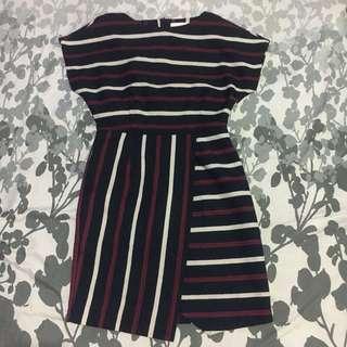 Refill Overlap dress