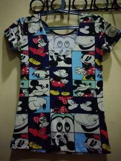 Sexy Mickey Mouse Top