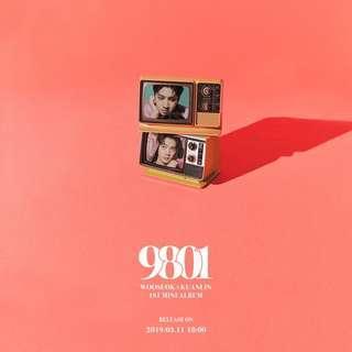 [ PRE-ORDER] WOOSEOK X KUANLIN 1st mini album<9801>