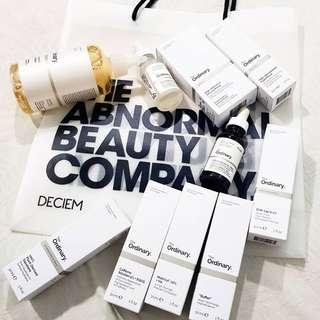 READY STOCK THE ORDINARY PLEASE REFE R TO PHOTO FOR PRICELIST