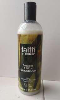 🈹護髮素faith in nature seaweed and citrus and conditioner with wild harvested seaweed 保濕護髮洗頭後使用