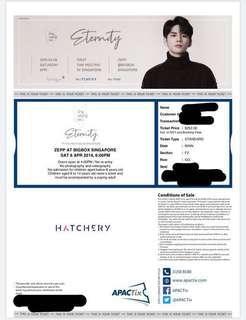 🚚 ong seong wu section F2 fanmeet ticket