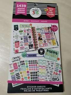 BN Happy Planner MOM'S Sticker Book