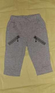 Unisex Pants 男女童7分短褲