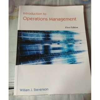 introduction to operations management 原文書