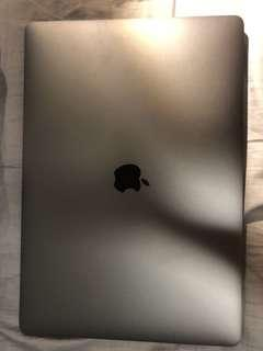 MacBook Pro 15inch space grey