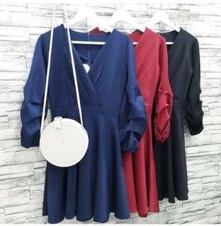 Kimono Dress Merah