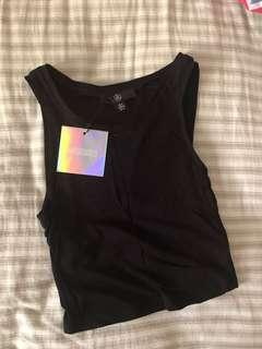 bnwt missguided crop tank top