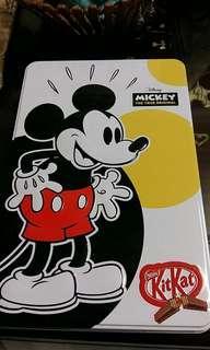 Kit Kat Disney Mickey The True Original Tin #MMAR18