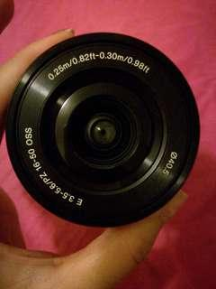 #CAM50 Sony E-Mount Interchangeable Lens - Model SELP1650