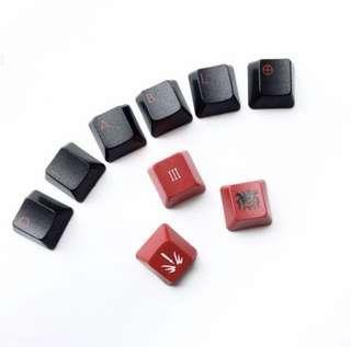 Sanctuary 3 Diablo Keycaps Set