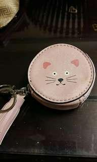 Miniso Pink Nude Coin Purse #MMAR18