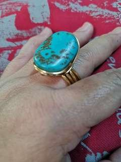 Turquoise ring adjustable