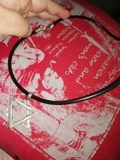 Pentagon necklace
