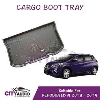 Perodua Myvi Rear Cargo Boot Tray 2018 - 2019