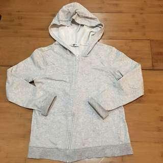 Gray hoody w/ zipper