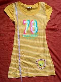 Tweety Bird Dress Shirt (4t-7t)