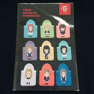 🚚 Twiceland Encore Character Magnetic Bookmarks