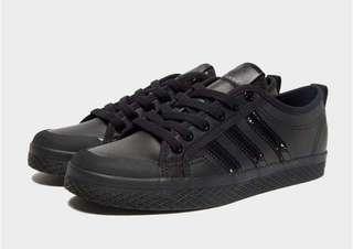 Adidas Original Black Leather Honey Lo