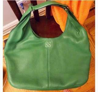 Coach Kelly Green Leather bag