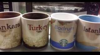 🚚 BN Starbucks Mugs collection worldwide