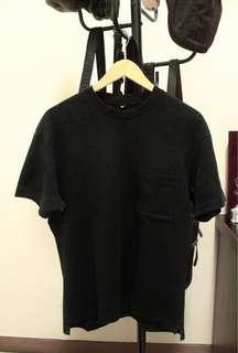 Kaos Polos T-Shirt Uniqlo Hitam Oversize
