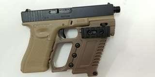 WE Glock 17 & pistol carbine kit
