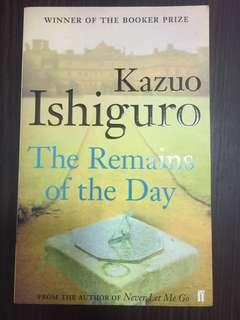 🚚 Kazuo Ishiguro, Remains of the Day