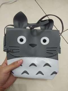 #maudompet Tas Selempang Clutch Totoro