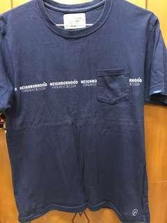 中古 NEIGHBOURHOOD X FRAGEMENT TEE