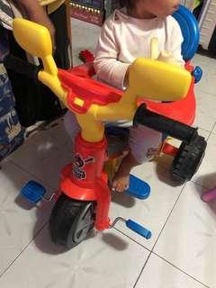 二手 Baby plus Feber 手推車 幼兒學習單車 (落街一流)需自取