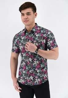 Baju Batik Black/Pink