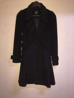 Authentic armani casual coat black jacket outerwear