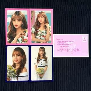🚚 Twice Twiceland Fantasy Park Official Photocard Jihyo