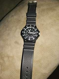 Traser watch authentic unit only removed battery for storage