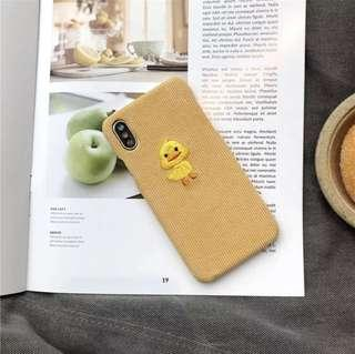 🚚 Yellow chick iPhone X case