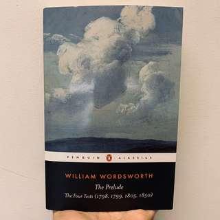 [brand new] william wordsworth — the prelude