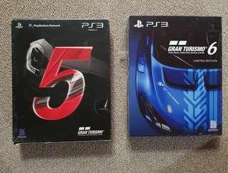Ps3 Gran Turismo 5 Gran Turismo 6 Limited Edition