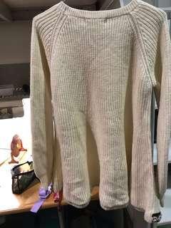 🚚 荷葉下擺毛衣