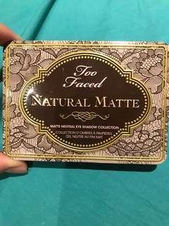 Too faced matte