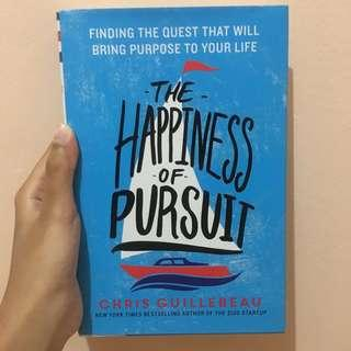 Novel English Self Help: The Happiness of Pursuit