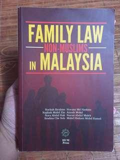 Family Law Non Muslims in Malaysia