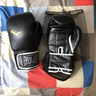 🚚 Boxing Gloves, Everlast