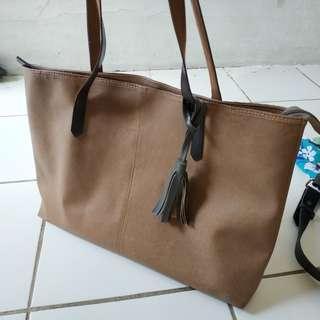 #Jumat80 Brown Handbag