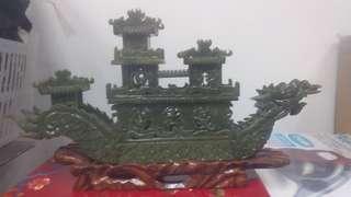Old jade carving